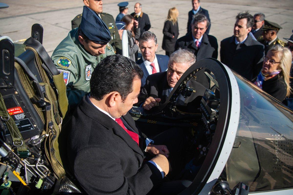 Aviones Pampa III comprados por Jimmy Morales.