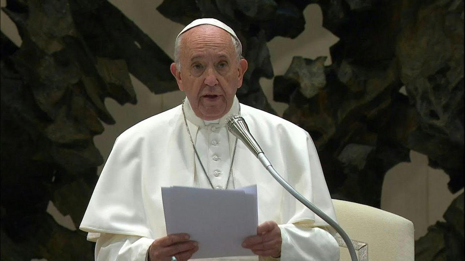 """Para el papa, la prostitución es un """"vicio repugnante"""""""