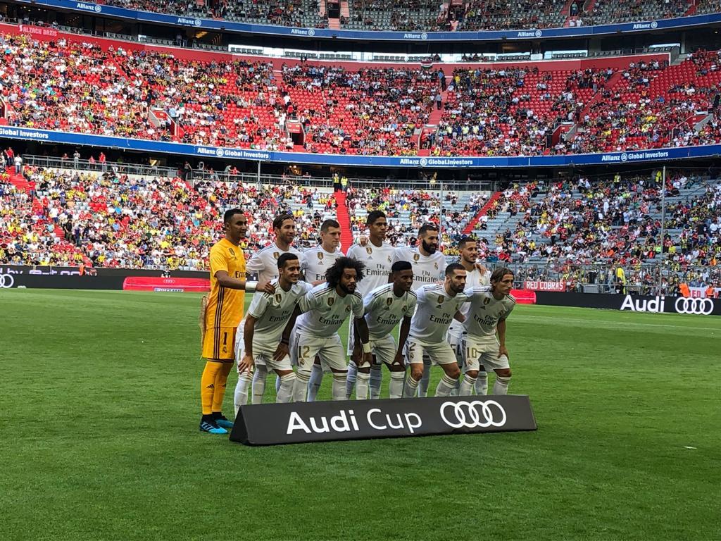 Keylor Navas titular con el Madrid