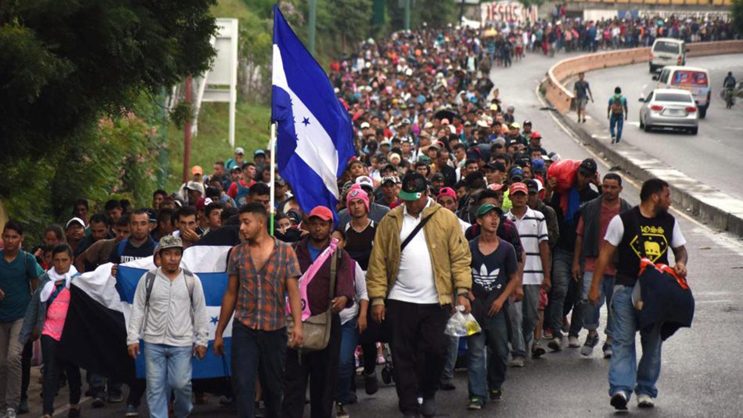 na iglesia de EEUU acepta a familia hondureña que viajó en caravana migrante
