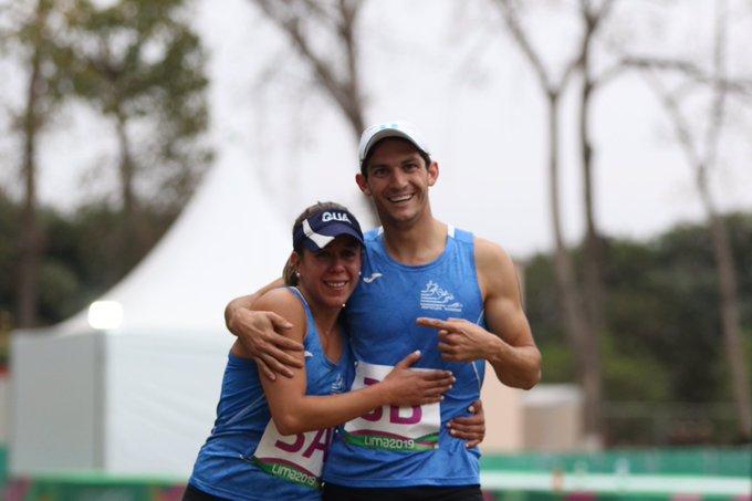 Ximena Dieguez y Charles Fernández