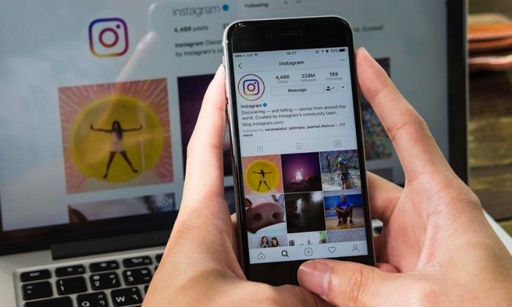 Likes de fotos en Instagram