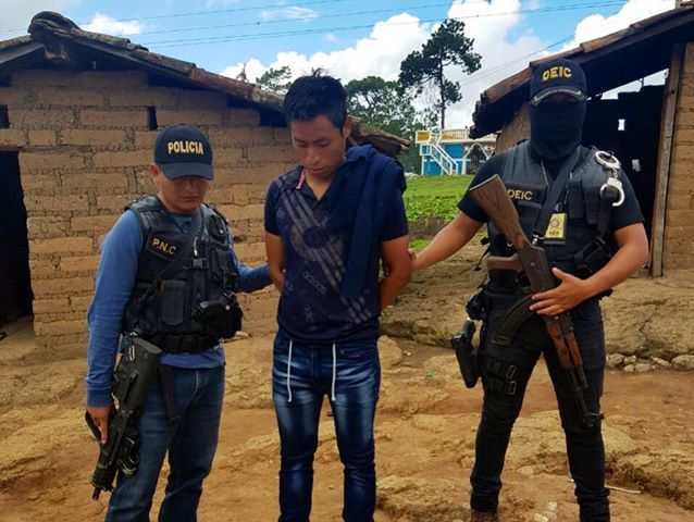 Capturan a dos hombres por haber asesinado a una niña de 10 años en Quiché