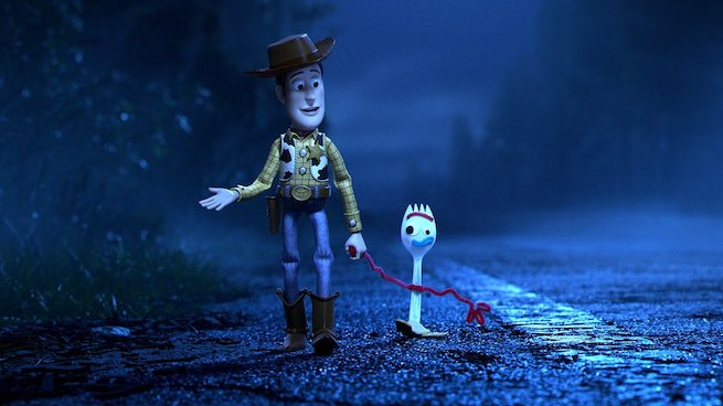 Toy Story 4, Woody y Forky