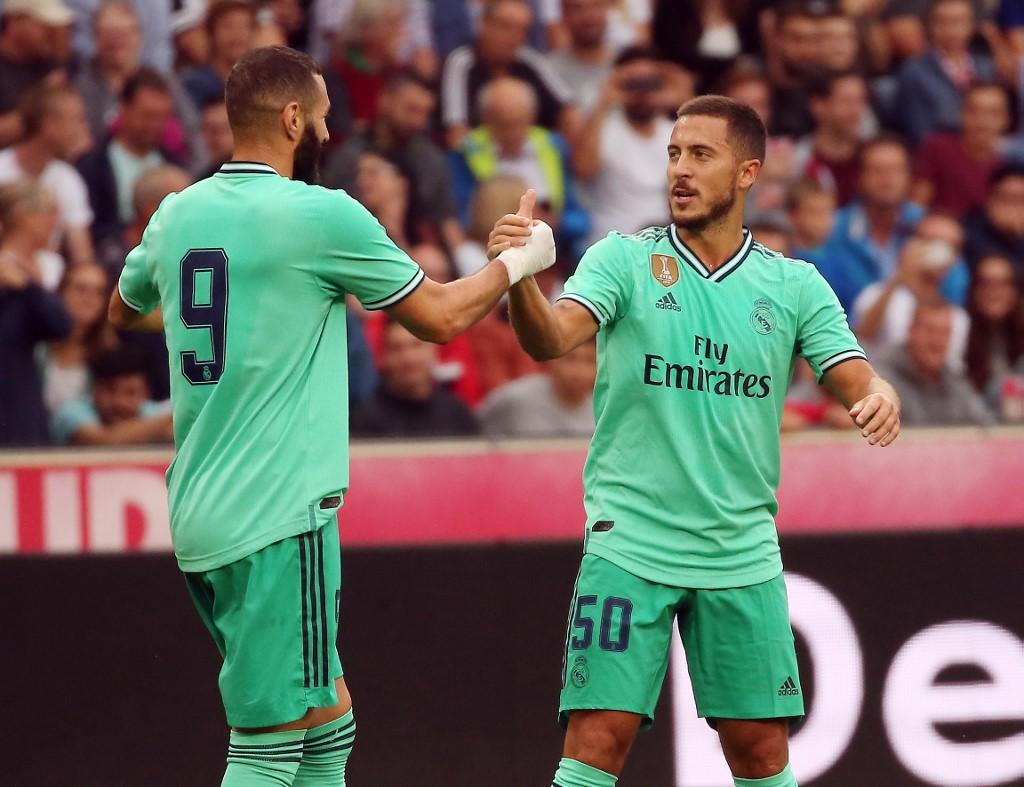 Real Madrid vence al Salzburg