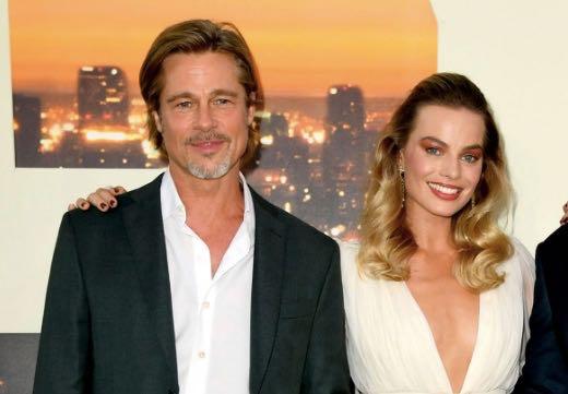 Brad Pitt y Margot