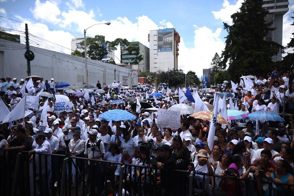 Cierre de calles por actividad de campaña electoral