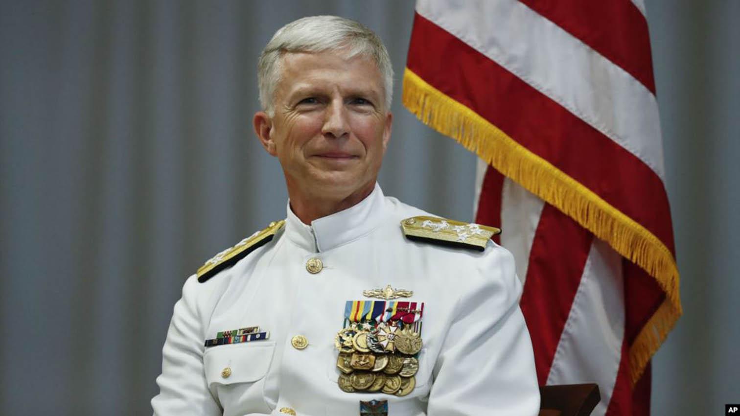 El almirante Craig Faller, jefe del Comando Sur de Estados Unidos