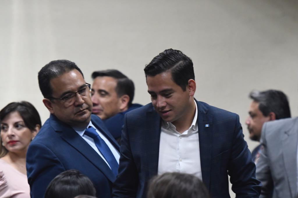 José Manuel Morales y Samuel Morales durante lectura de sentencia