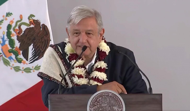 El presidente de México, Andrés Manuel López Obrador, (AMLO)