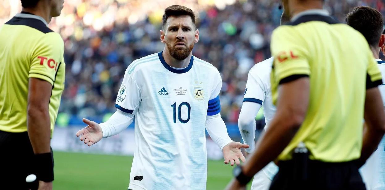 Lionel Messi, selección argentina 2019