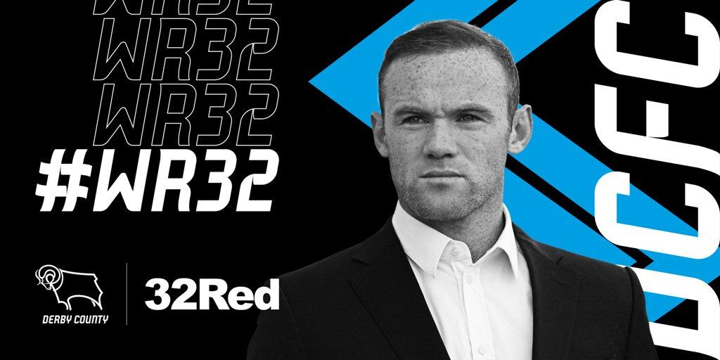 Así anunció el Derby County la llegada de Rooney