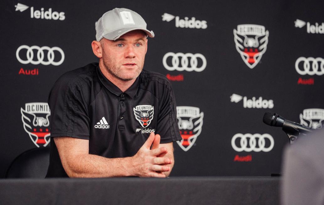 Wayne Rooney actual jugador del DC United