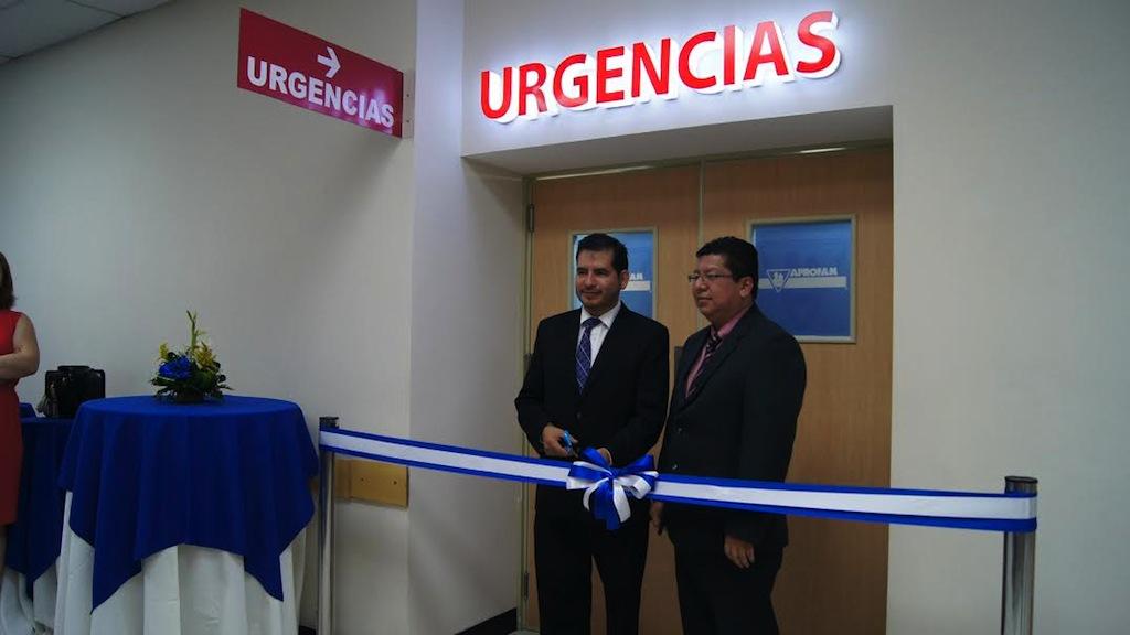 Inauguración sala de emergencias Aprofam