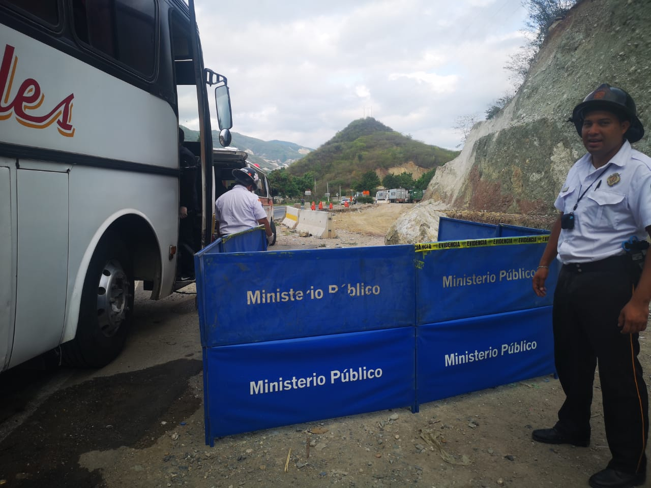Bus ruta Esquipulas-Guatemala