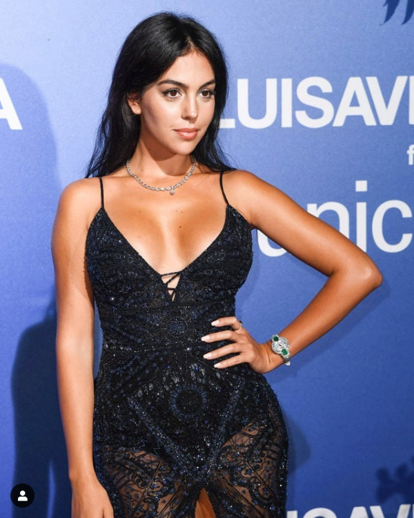 Georgina Rodríguez remece Instagram con la réplica de famosa foto