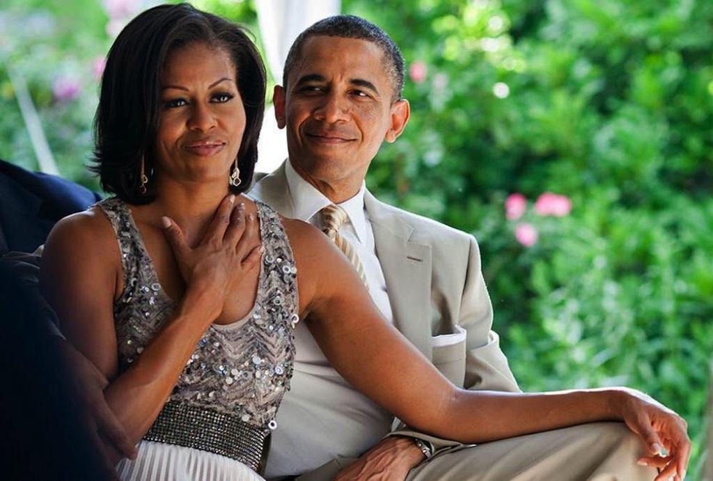 Michelle Obama y Barack Obama
