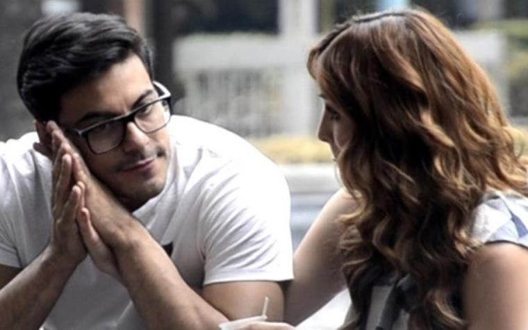 Carlos Rivera y su novia