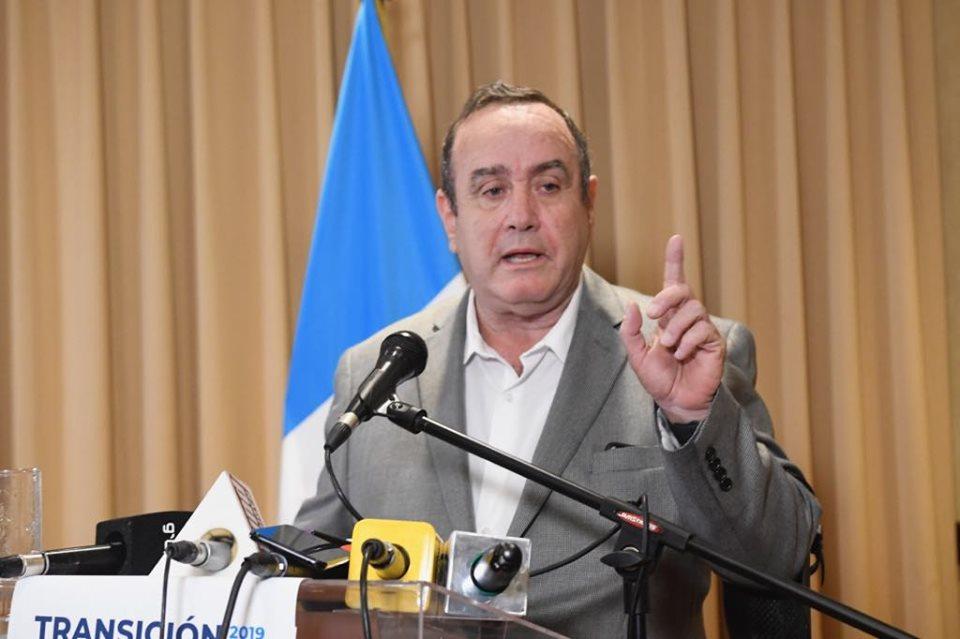 Giammattei advierte en no poner en rigor acuerdo migratorio