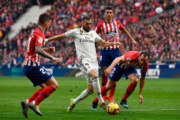 Derbi Atlético de Madrid vs Real Madrid