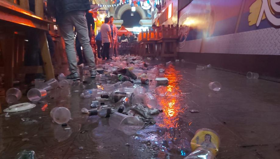 Critican basura acumulada en sitio turístico de Xela