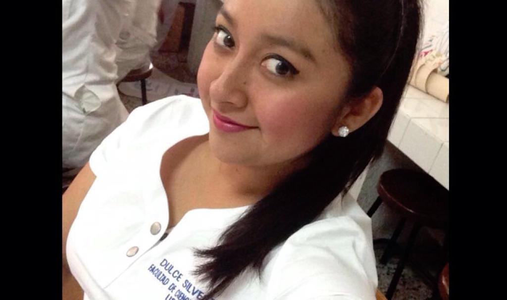 Velveth Dulce Maria Silvestre Morales, estudiante de medicina.