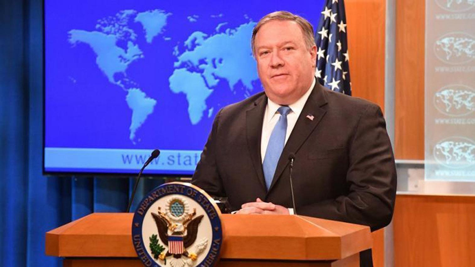 El jefe de la diplomacia de Estados Unidos, Mike Pompeo