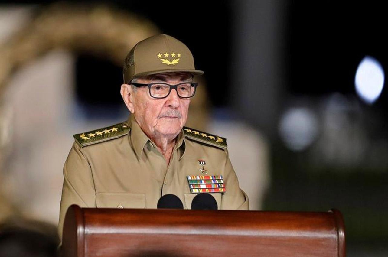 """EEUU sanciona a Raúl Castro por """"graves violaciones de derechos humanos"""""""
