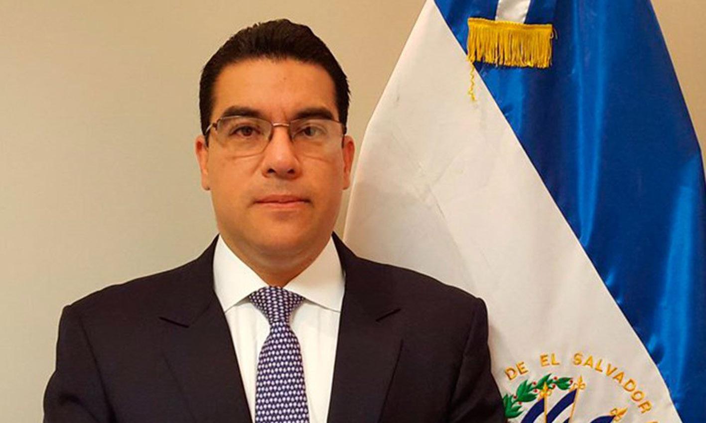 El fiscal general de El Salvador, Raúl Melara,
