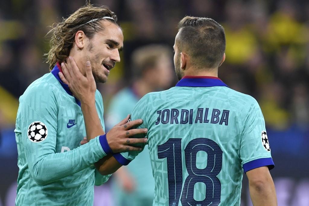 Jordi Alba, Barcelona en la Champions