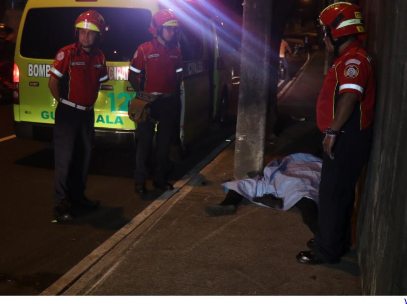 Motorista muerto por ir a excesiva velocidad