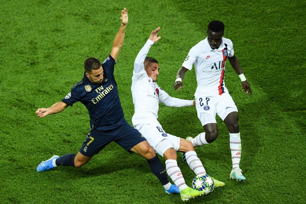 PSG golea al Real Madrid