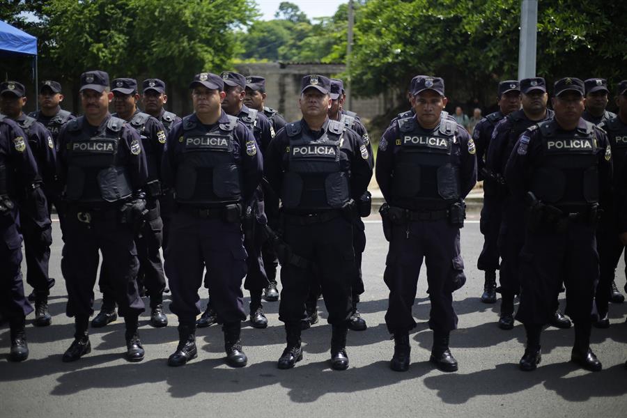 Patrulla fronteriza de El Salvador por migracion