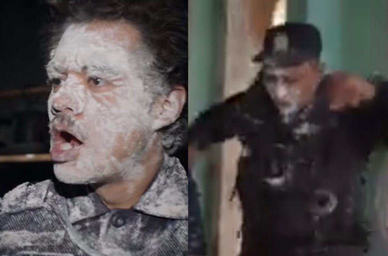 Policía de la harina versión chapina