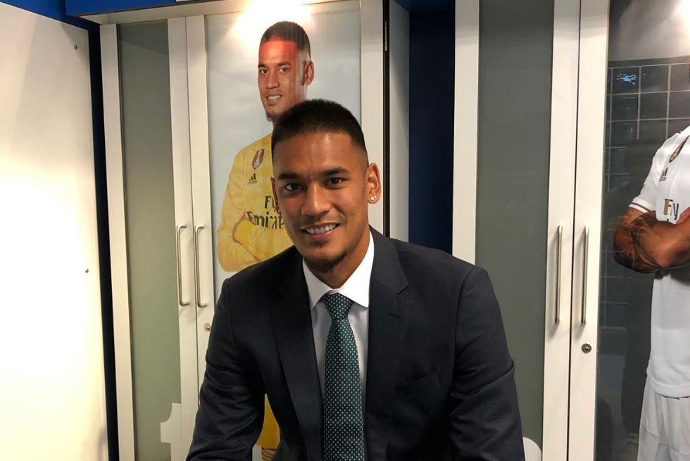 Alphonse Areola, es el nuevo portero del Real Madrid