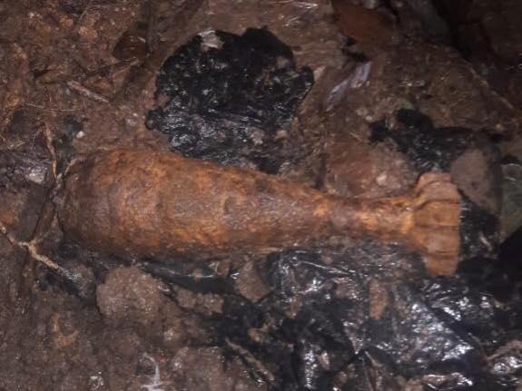 Granada de mortero alerta a vecinos de la aldea Las Tunas en Jutiapa