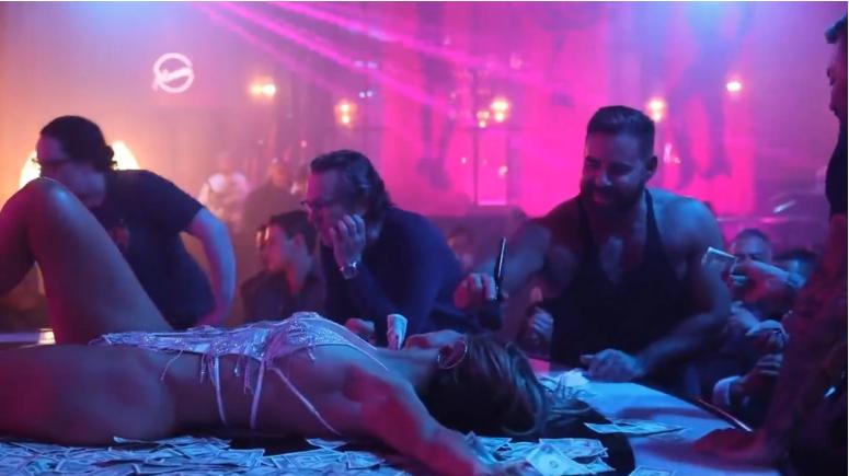 Jennifer López stripper