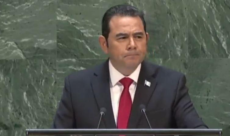 Jimmy Morales arremete contra la ONU y CICIG