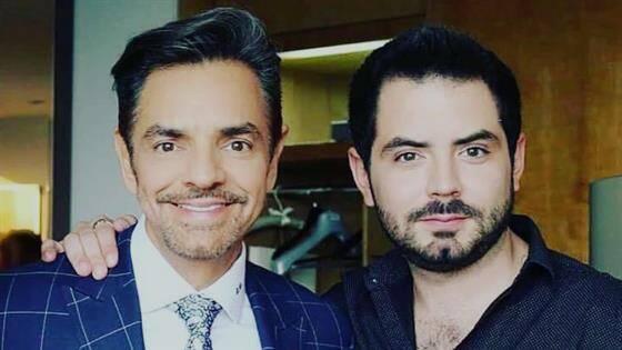 José Eduardo Derbez y su papá