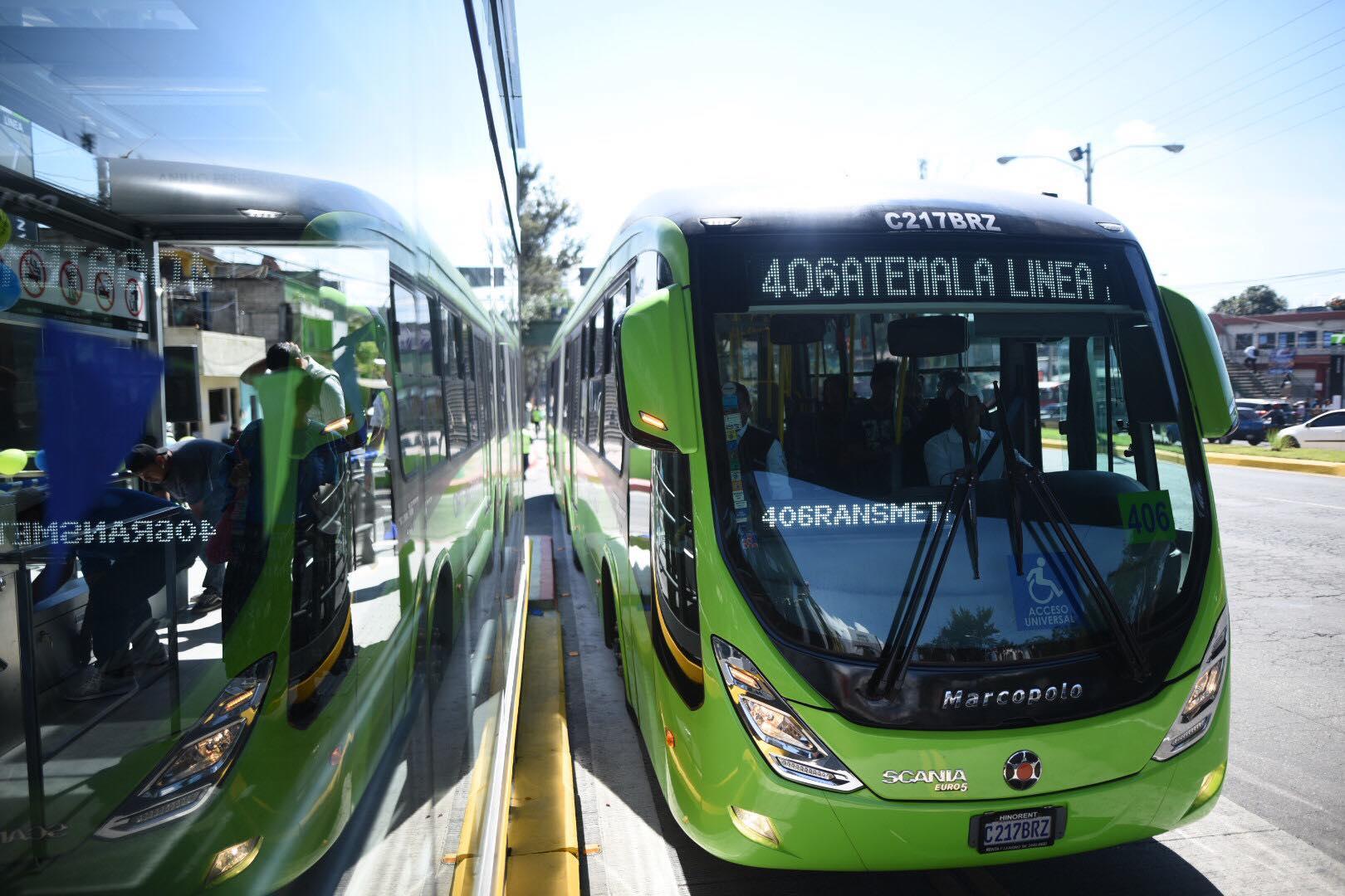 La Línea 7 del Transmetro transportará a 60 mil personas diarias