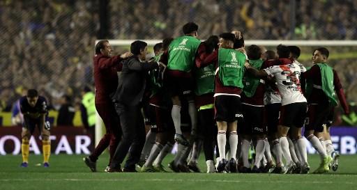 Boca eliminado por River en la Libertadores