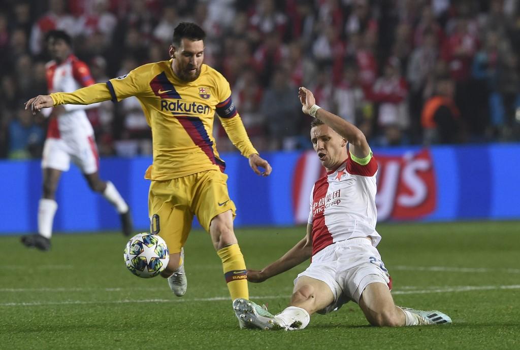 Slavia Praga vs FC Barcelona