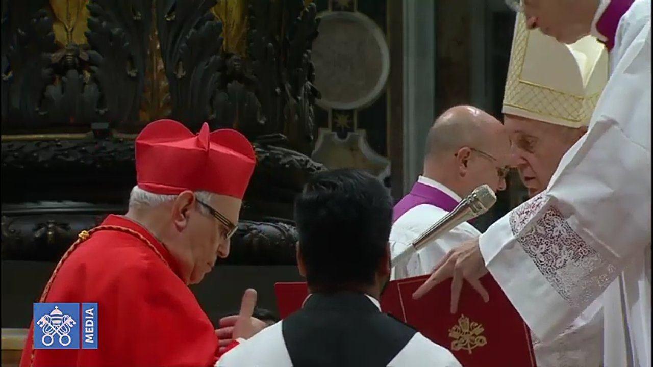 Álvaro Ramazzini fue nombrado Cardenal esta mañana en El Vaticano