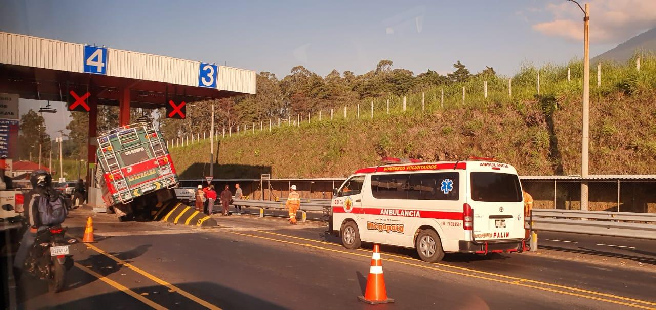 Accidente autopista Siva palin escuintla