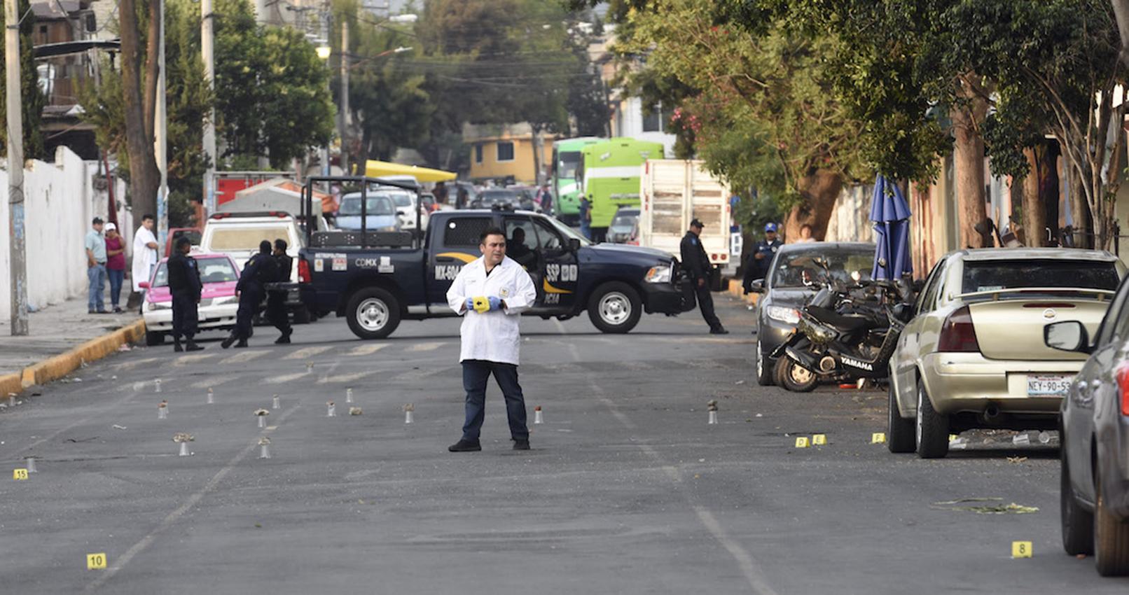 Atacan a un cortejo fúnebre en turística ciudad de México
