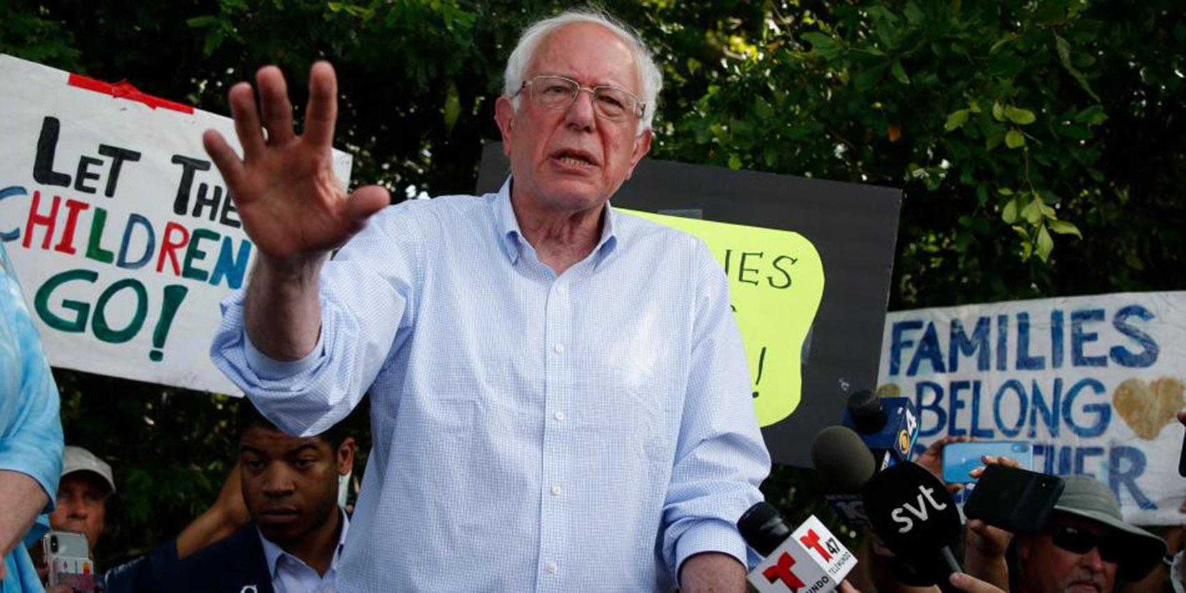 Bernie Sanders suspende campaña electoral por problema arterial