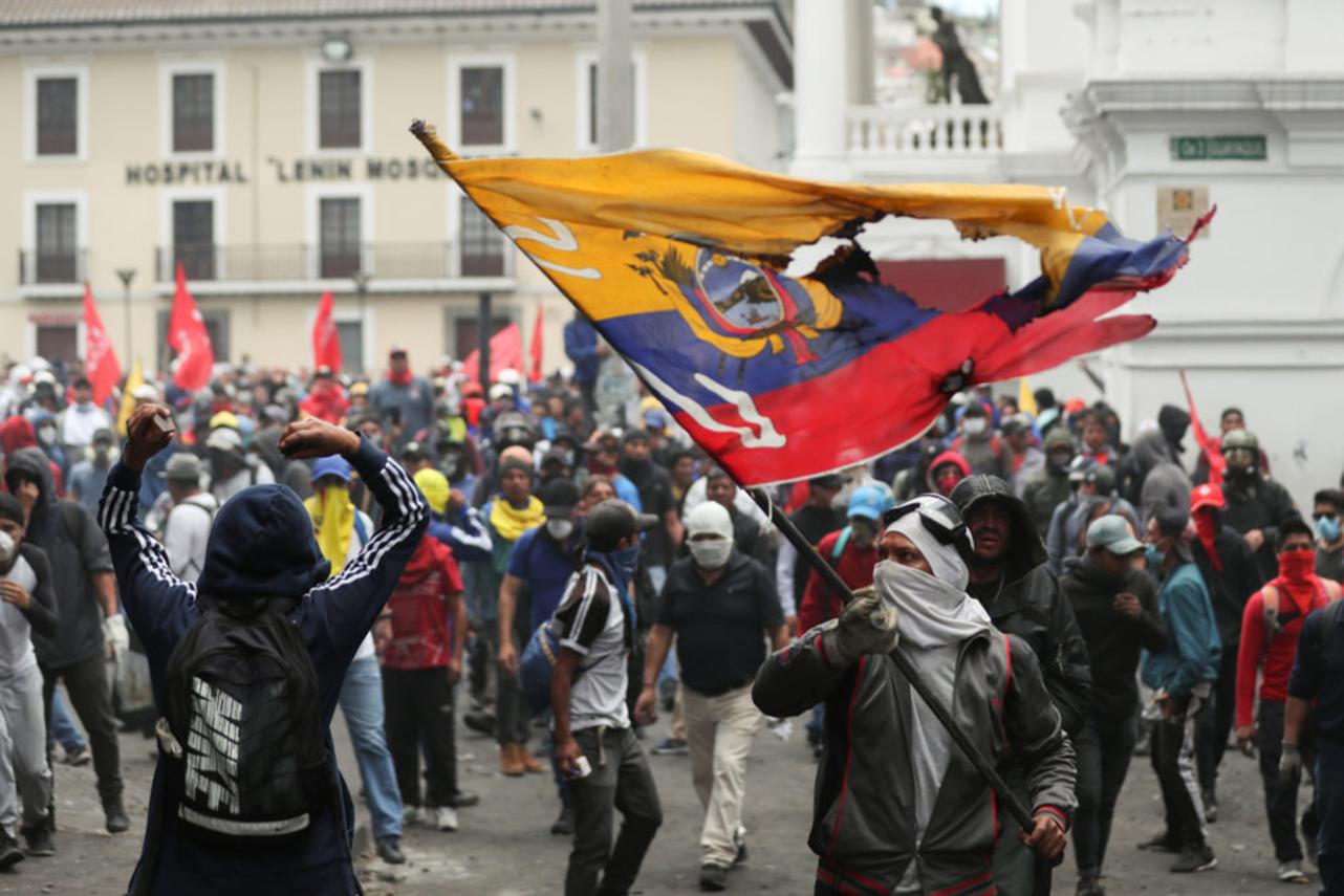 ¿Cuántas personas han fallecido en una semana de protestas en Ecuador?