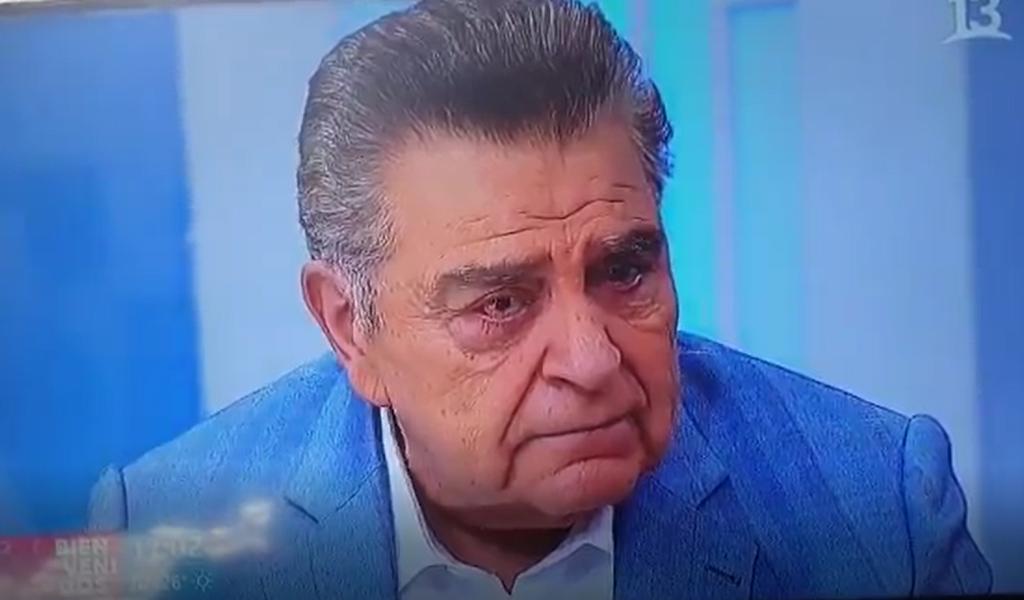 Don Francisco rompe en llanto y espera que la situación en Chile se mejore