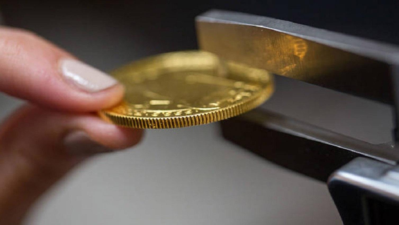 En Ciudad de México detienen a un sujeto con 20 monedas de oro