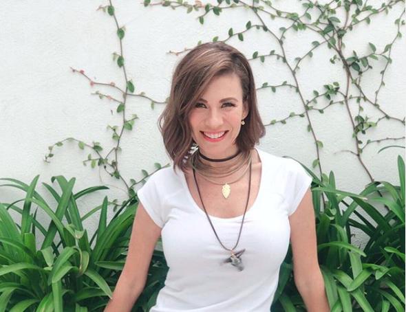 """FOTOS: Ingrid Coronado al natural se ve como """"abuelita"""" dicen sus fans"""